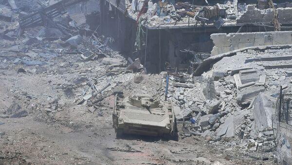 BMP-1. Ilustrační foto - Sputnik Česká republika