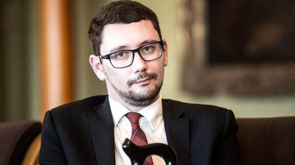 Tiskový mluvčí prezidenta ČR Jiří Ovčáček - Sputnik Česká republika