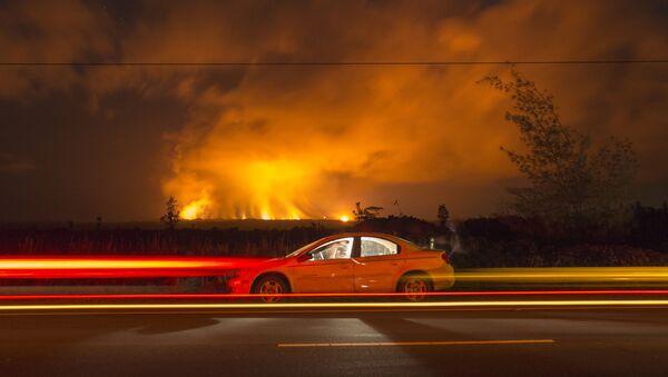 Vulkán na Havaji se pokračuje v erupci - Sputnik Česká republika