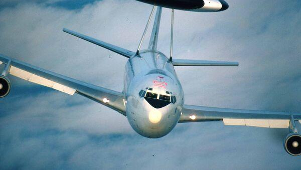 Boeing 707 v modifikaci AWACS. Ilustrační foto - Sputnik Česká republika