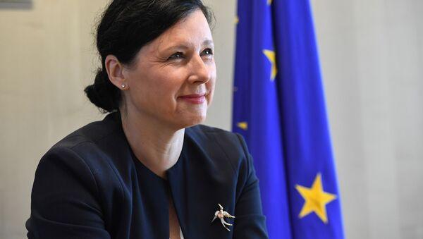Eurokomisařka Věra Jourová - Sputnik Česká republika