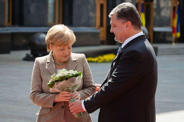 Květinový boom. Jaké kytice dávají politikům v různých zemích - Sputnik Česká republika