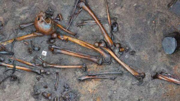 Lidské kosti objevené v Dánsku - Sputnik Česká republika