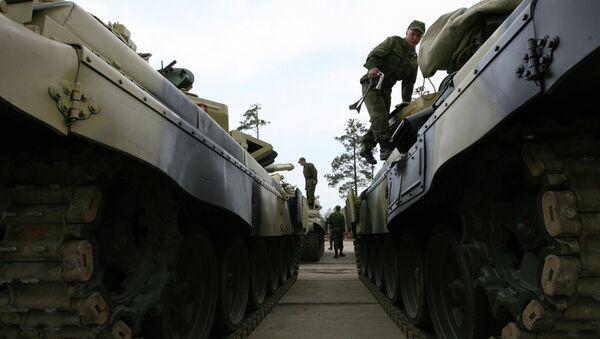 Tanky T-72 - Sputnik Česká republika
