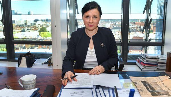 Eurokomisářka Věra Jourová - Sputnik Česká republika
