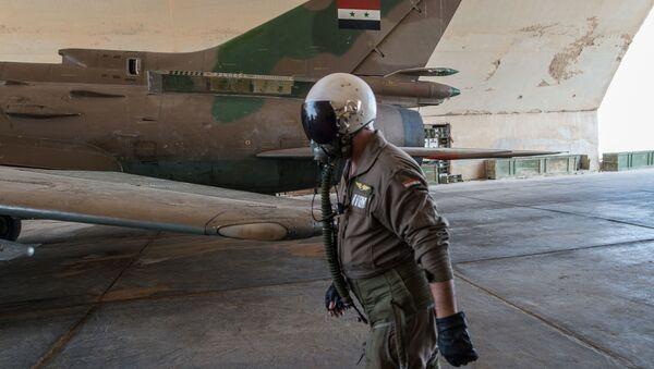 Syrská základna v Homsu - Sputnik Česká republika