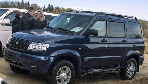 Obrněný automobil Jesaul vyvinutý na základě UAZ Patriot - Sputnik Česká republika