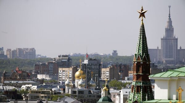 Pohled na Kreml - Sputnik Česká republika