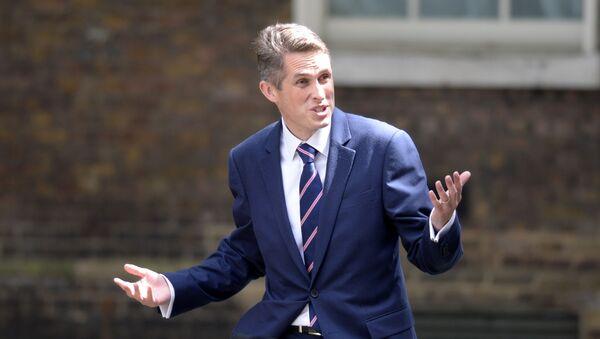 Ministr obrany Velké Británie Gavin Williamson - Sputnik Česká republika