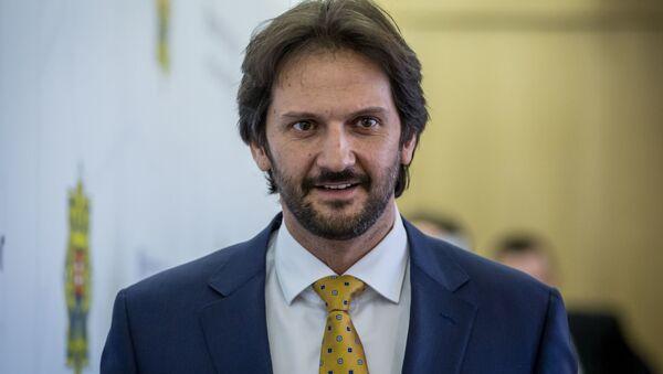slovenský exministr vnitra Robert Kaliňák - Sputnik Česká republika