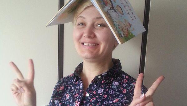 Ukrajinská dětská spisovatelka Larysa Nicojová - Sputnik Česká republika