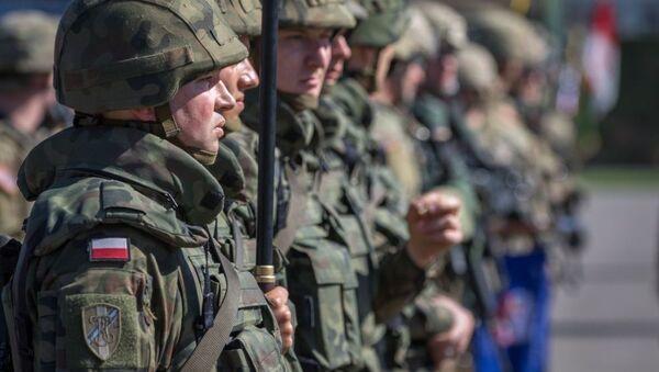 Bitevní skupina NATO v Polsku - Sputnik Česká republika