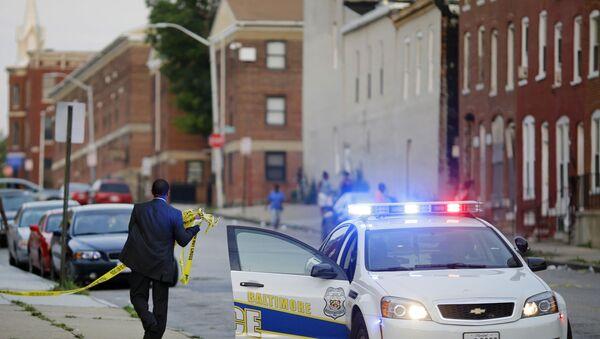 Americká policie. Ilustrační foto - Sputnik Česká republika