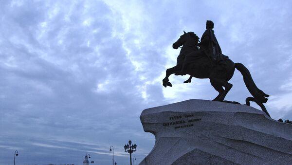 Socha Petra I. Velkého v Petrohradě - Sputnik Česká republika
