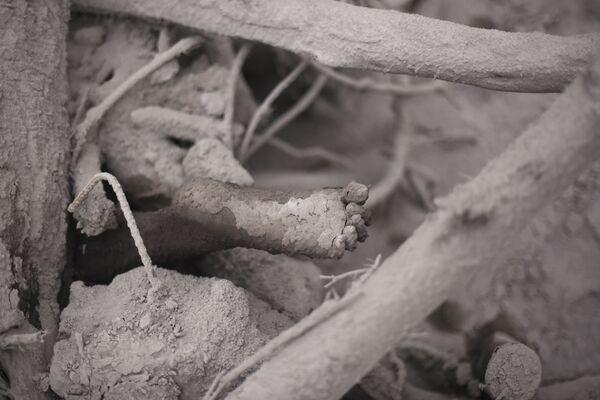 Oběť erupce sopky Fuego v Guatemale - Sputnik Česká republika