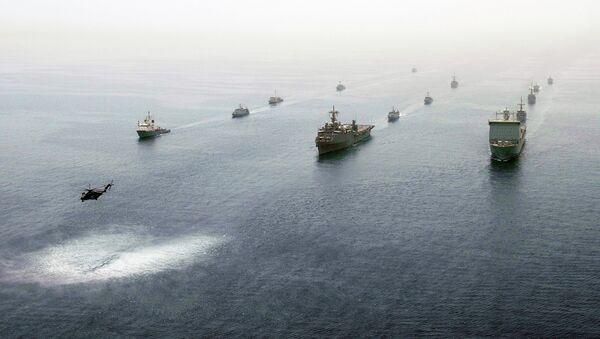 Vojenské cvičení v Perském zálivu - Sputnik Česká republika
