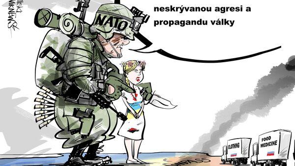 Neskrývaná agrese - Sputnik Česká republika