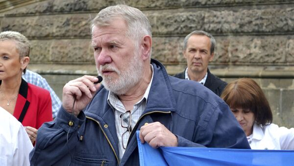 Český novinář, spisovatel a politik Jaromír Štětina - Sputnik Česká republika
