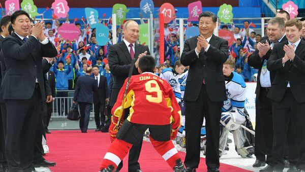 Zářivé momenty z návštěvy prezidenta RF Vladimira Putina v Číně - Sputnik Česká republika