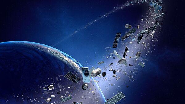 Kosmický odpad - Sputnik Česká republika