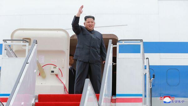 Lídr KLDR Kim Čong-un - Sputnik Česká republika