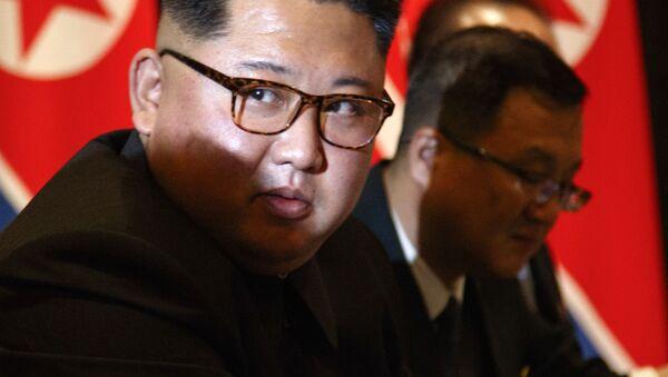 Prezident KLDR Kim Čong-un - Sputnik Česká republika