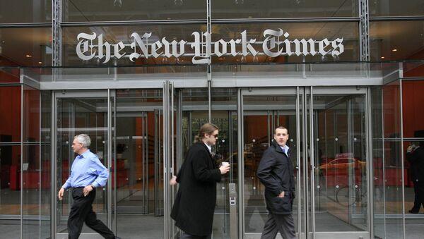 Budova New York Times - Sputnik Česká republika
