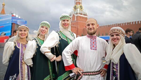 Koncert na Rudém náměstí věnovaný Dni Ruska - Sputnik Česká republika