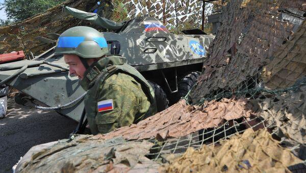 Ruská vojska v Podněstří - Sputnik Česká republika