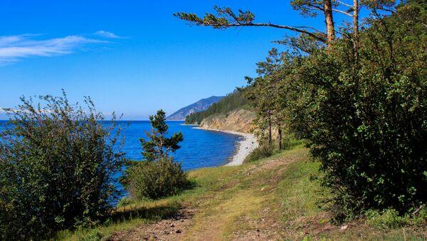 Jezero Bajkal, Východní Sibiř - Sputnik Česká republika