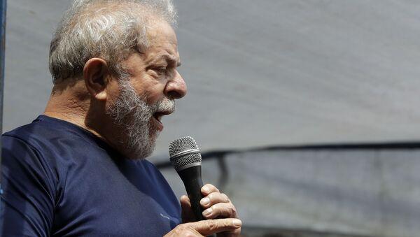 Bývalý prezident Brazílie Luiz Inácio Lula da Silva - Sputnik Česká republika