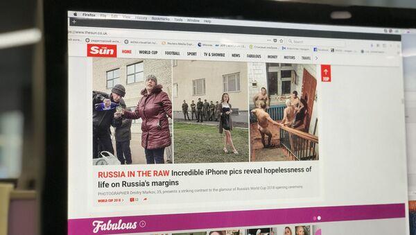 Ruský fotograf hovořil o podvodu ze strany britských novin The Sun - Sputnik Česká republika
