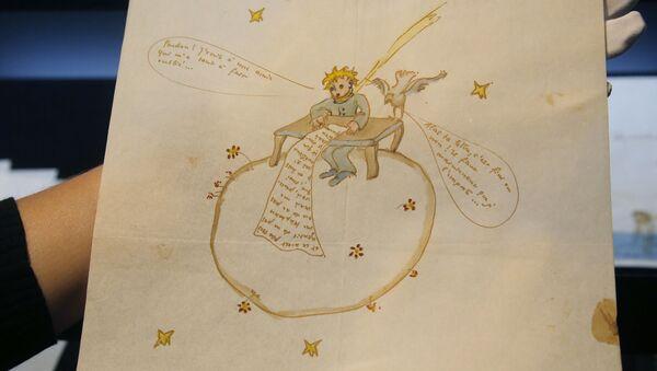 Jedna z kreseb pro knihu Malý princ Antoina de Saint-Exupéryho - Sputnik Česká republika