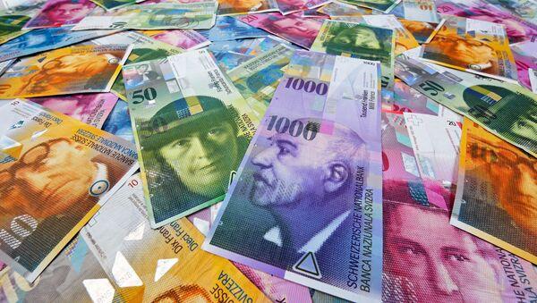 Švýcarské franky - Sputnik Česká republika