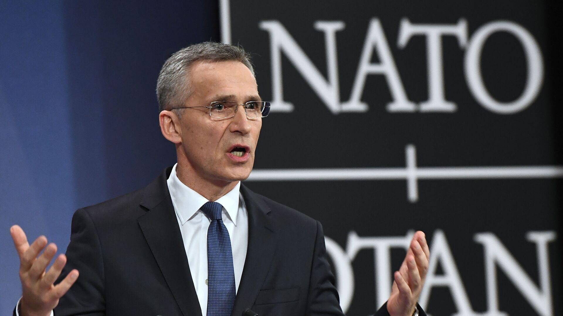 Generální tajemník NATO Jens Stoltenberg - Sputnik Česká republika, 1920, 26.08.2021