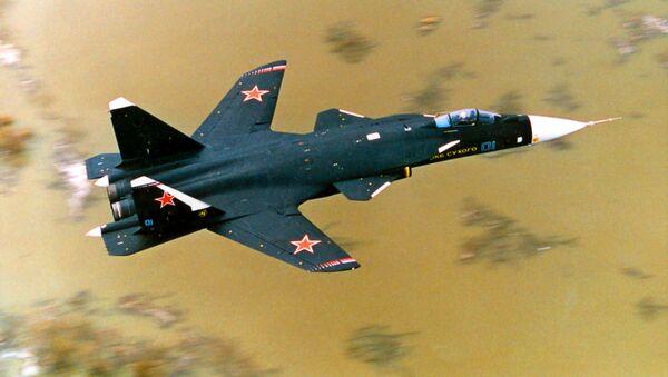 Stíhací letoun Su-47 Berkut - Sputnik Česká republika