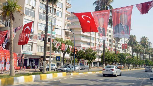 Turecko během voleb - Sputnik Česká republika