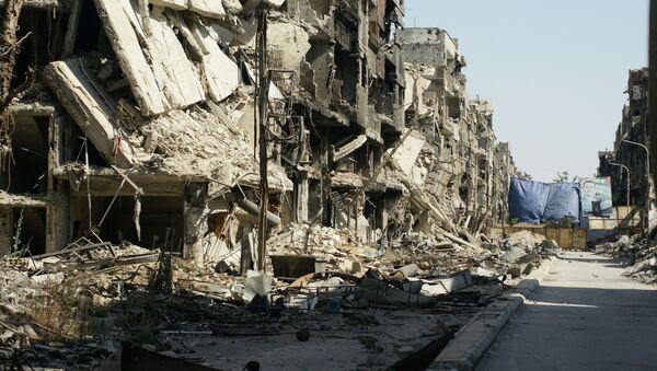 Zříceniny v Damašku - Sputnik Česká republika