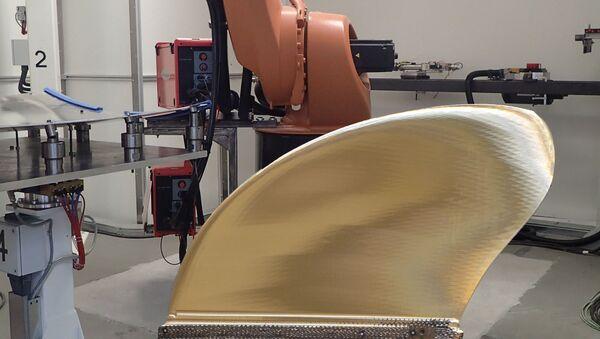 Lopatka lodní vrtule, která byla vytištěná na 3D tiskárně - Sputnik Česká republika