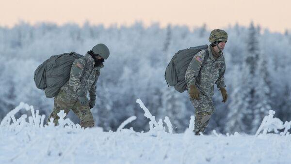 Američtí vojáci na Aljašce - Sputnik Česká republika