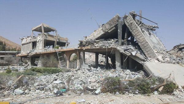 Výzkumné středisko v Sýrii, které vybombardovala koalice. Ilustrační foto - Sputnik Česká republika