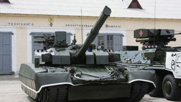 Tank T-84U Oplot Ozbrojených sil Ukrajiny - Sputnik Česká republika