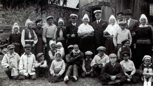 Estonští Švédové, 1937 - Sputnik Česká republika