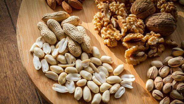 Různé druhy ořechů - Sputnik Česká republika