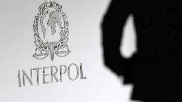 Logo Interpolu. - Sputnik Česká republika
