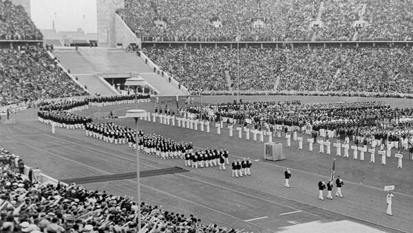Zahájení Olympijských her v Berlíně v roce 1936 - Sputnik Česká republika