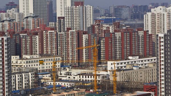 Pohled na Peking - Sputnik Česká republika