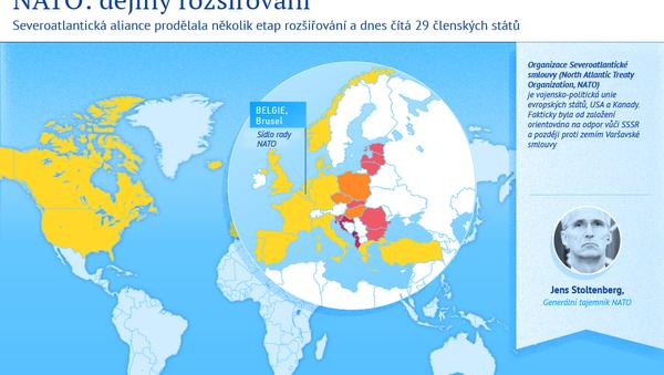 Rozšiřování NATO - Sputnik Česká republika