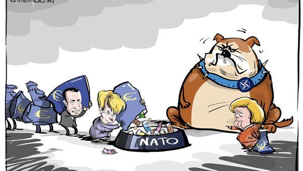 Nenasytné NATO - Sputnik Česká republika