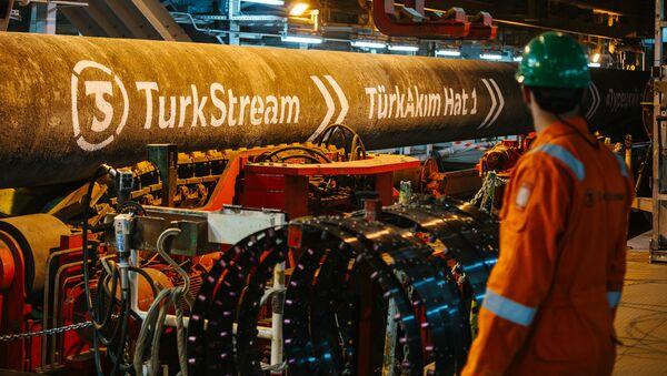 Potrubí Tureckého proudu - Sputnik Česká republika
